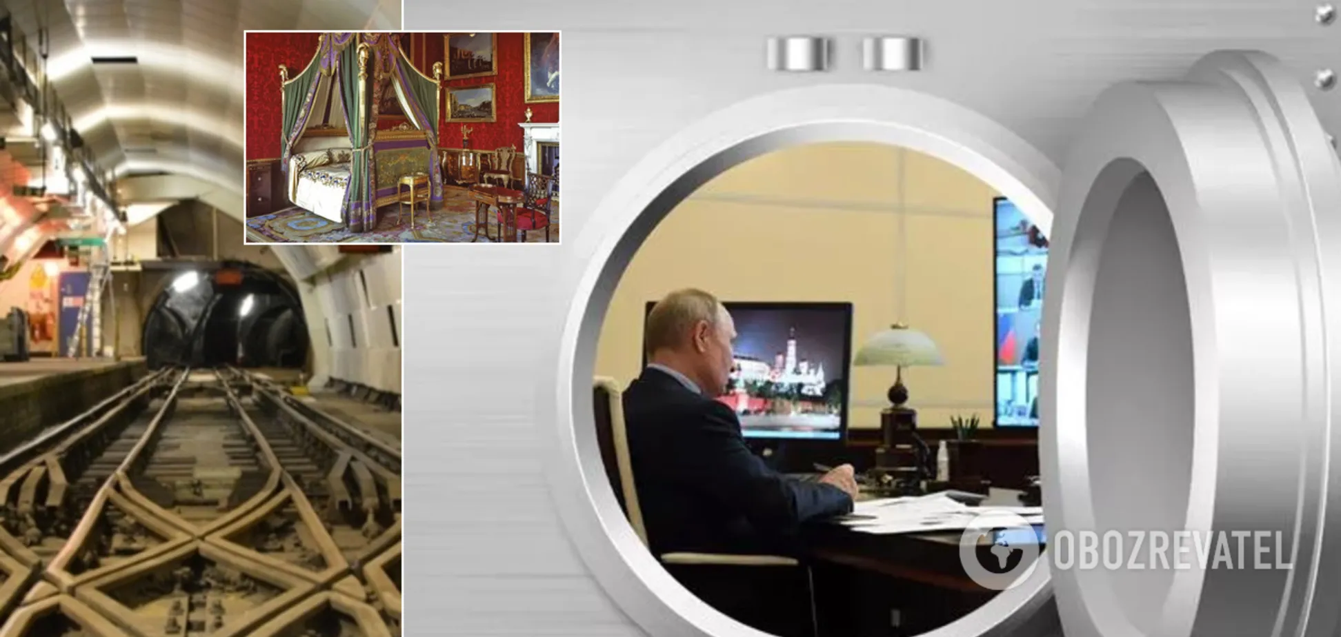Путин само изолировался от привитого окружения в бункере