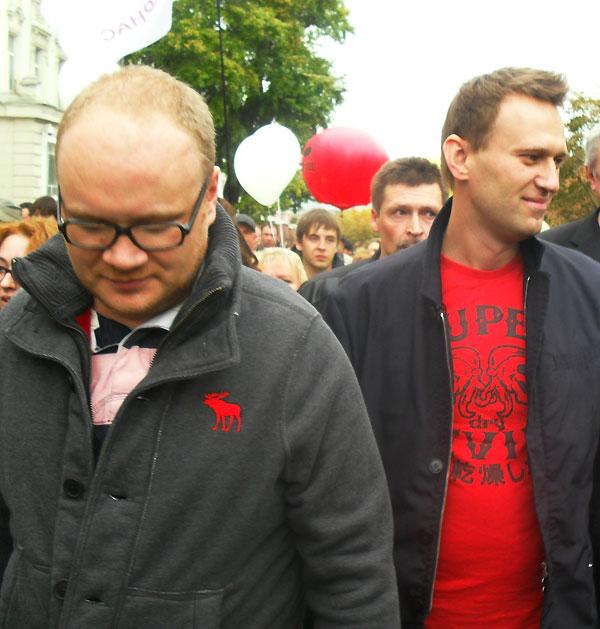 Имитаторы - провокаторы Олег Кашин и Алексей Навальный