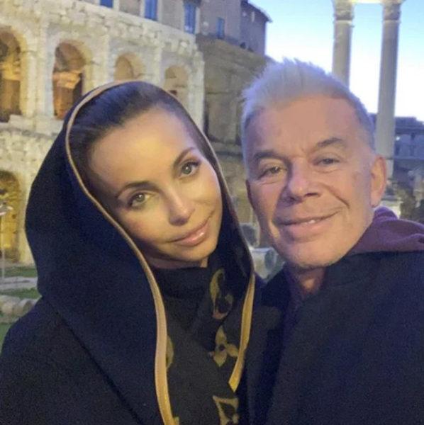Олег Газманов с супругой