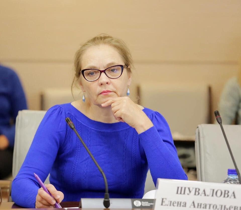 Елена Шувалова депутат Мосгордумы