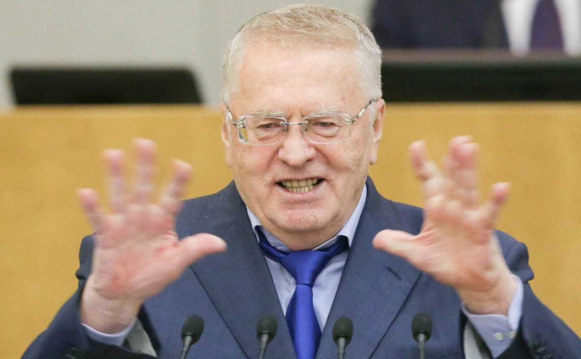 Лидер ЛДПР Жириновский