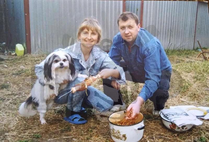 Генерал Иван Ткачёв с супругой Ольгой Ткачёвой