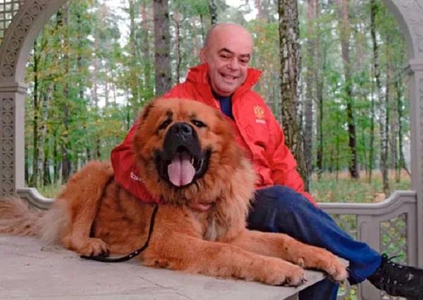 Бармалей с собачкой