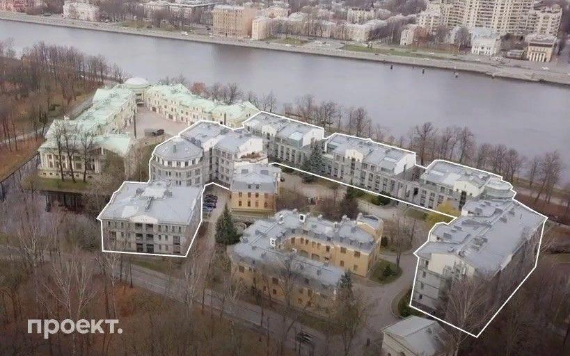 Дом на Каменном острове Санкт-Петербурга, где расположена квартира Цилевич