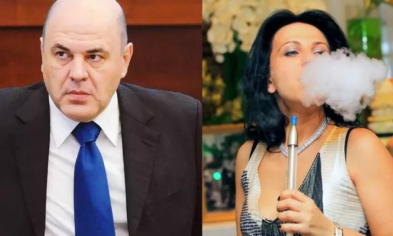 Михаил Мишустин и его супруга Владлена