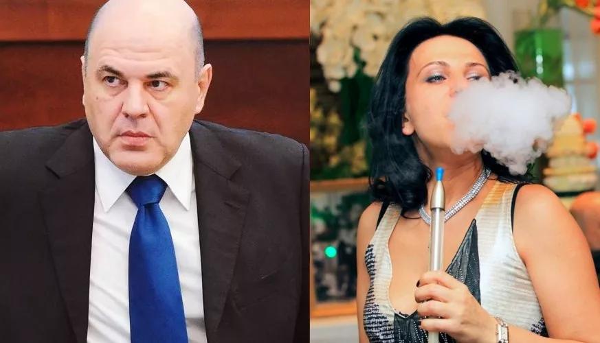 Скромный премьер Мишустин с богатой неработающей женой Владленой