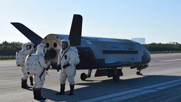 Мини-шаттл X-37B