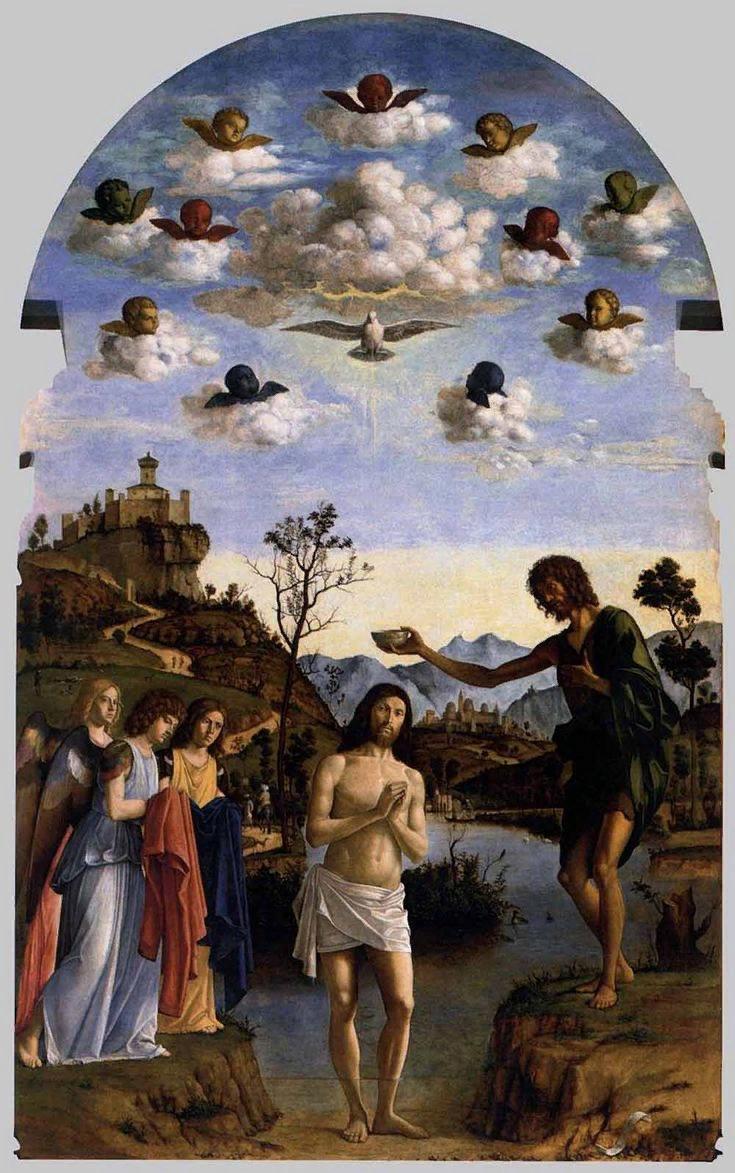 Чима да Конельяно. Крещение Христа