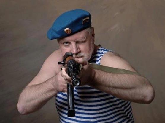 Депутат - десантник Сергей Миронов