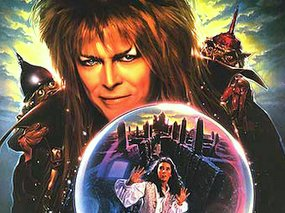 David Bowie Jennifer Connelly Labyrinth Poster Detail