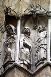 Statues on York Minster