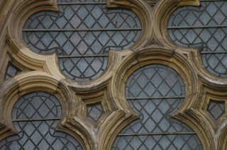 Window detail on York Minster