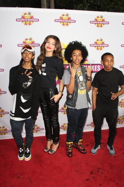 zendaya and mindless behavior -#main