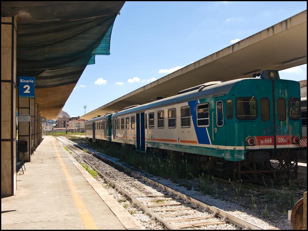 Trapani train station