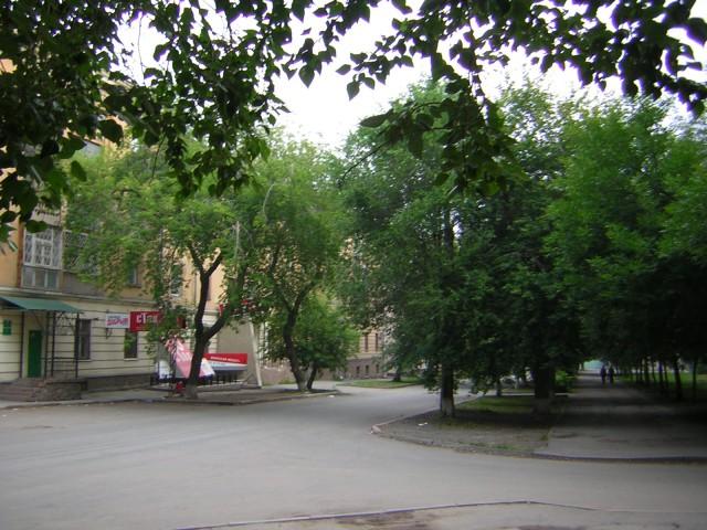 Зелёная улочка Советская