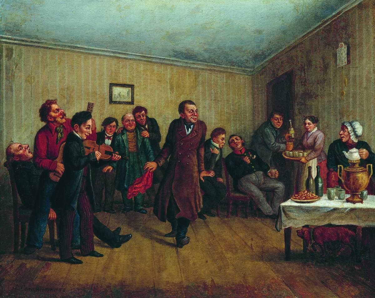 Вечеринка у приказчика