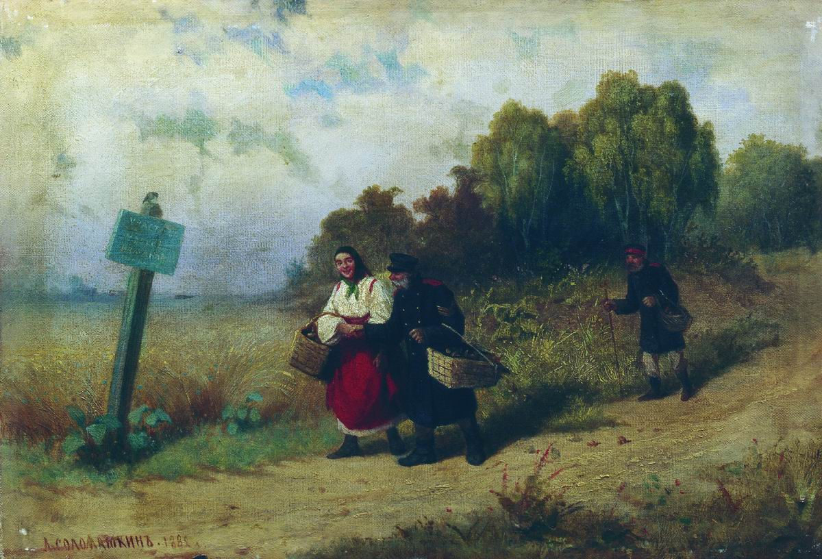 Окрестности села Измайлово. 1882