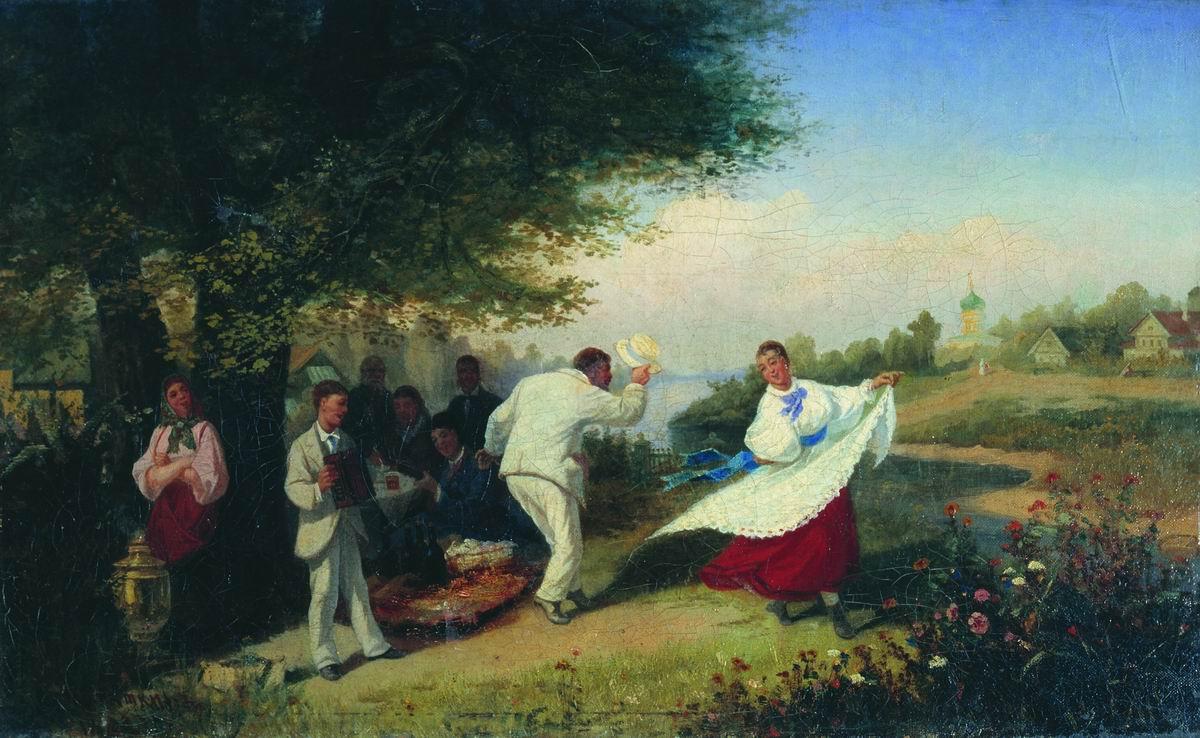 Пикник. 1882