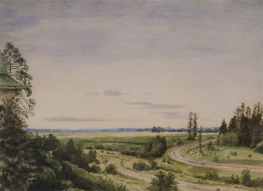 Август. 1885