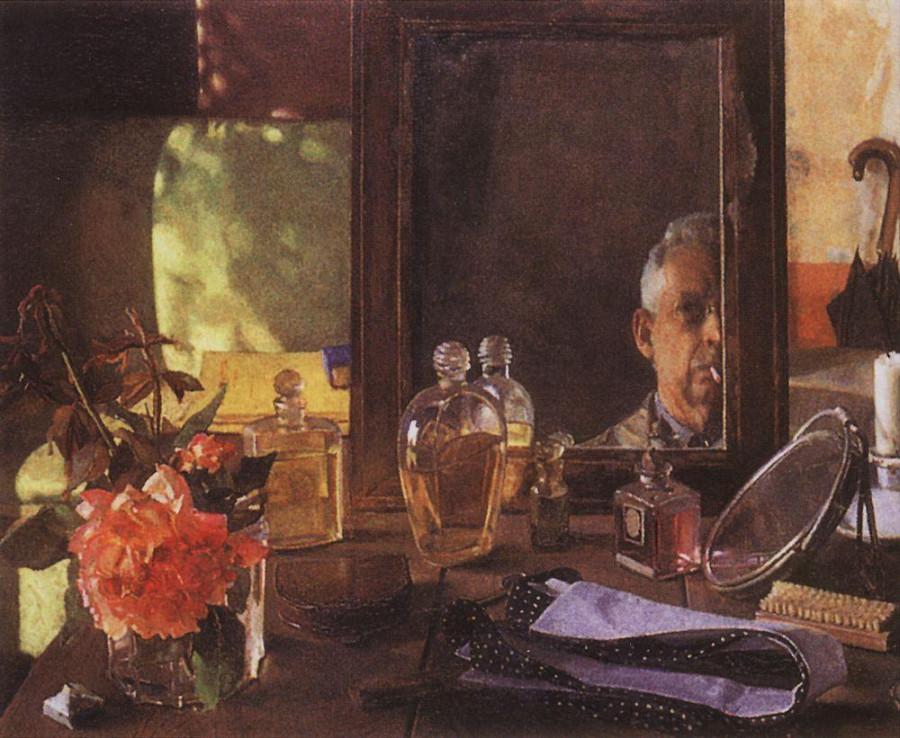 Автопортрет в зеркале. 1934