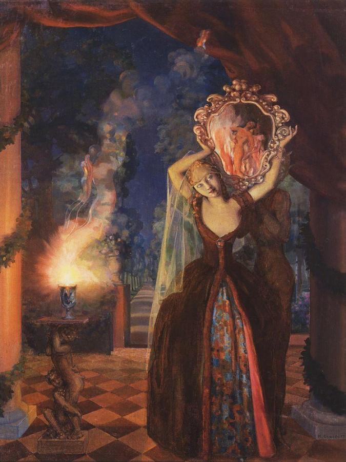 Волшебница. 1915