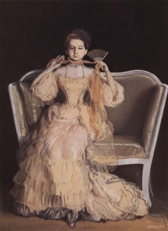 Дама в розовом. 1903