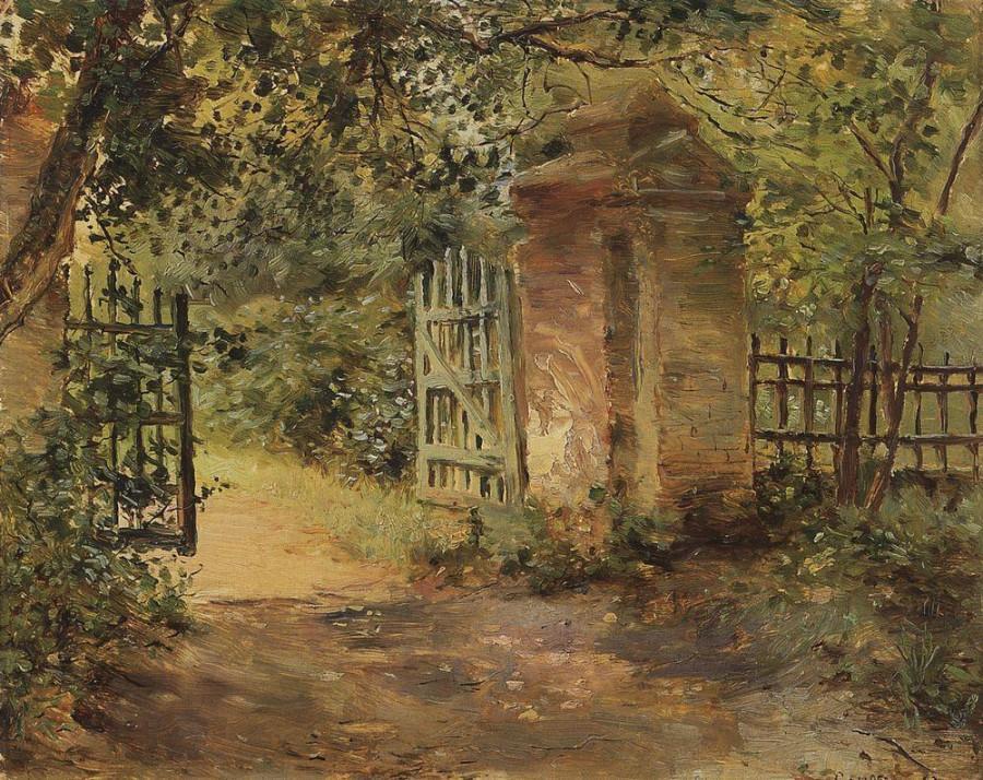 Дорога в Секерино. 1893