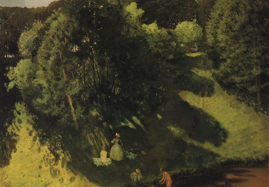 Купальщицы. 1899