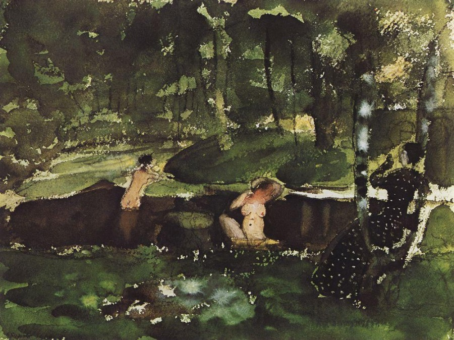 Купание. 1904