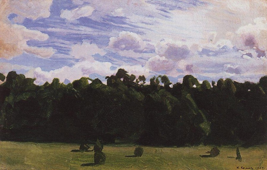 Лес. 1900