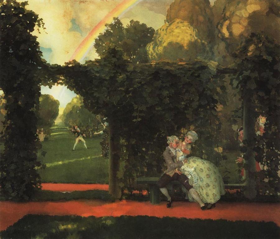Осмеянный поцелуй. 1908