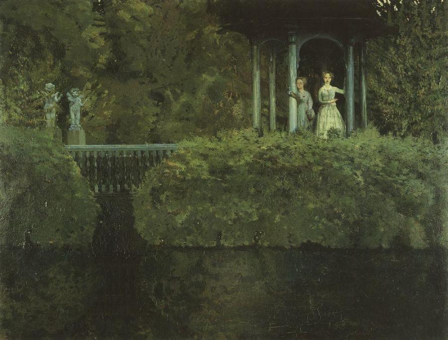 Остров любви. 1900