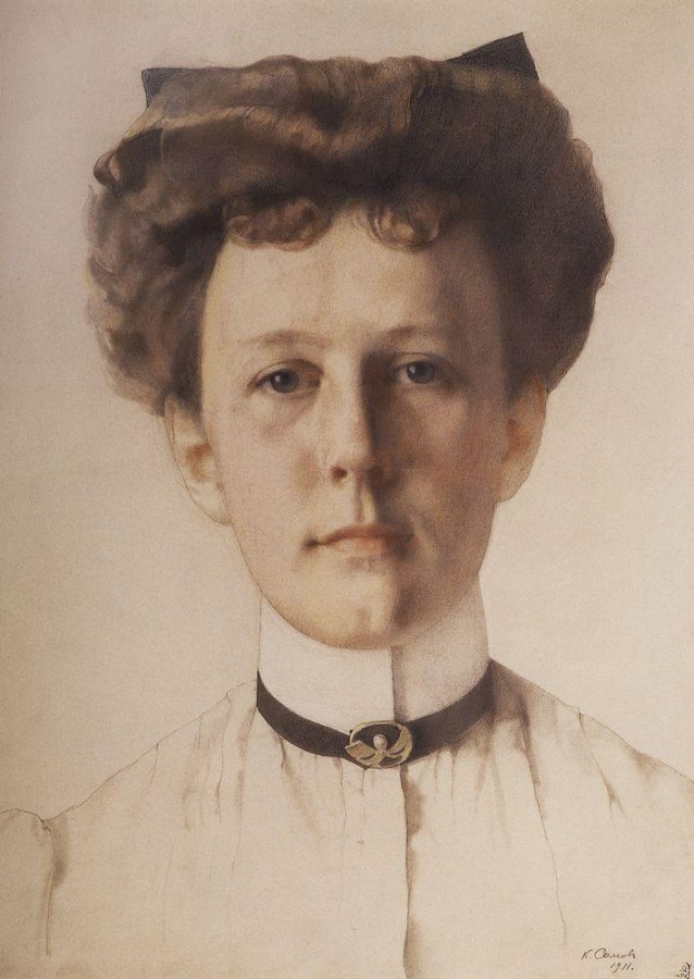 Портрет А.А.Нольде. 1911