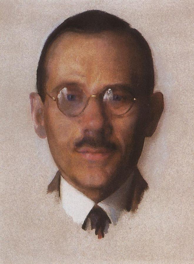 Портрет А.А.Попова. 1928