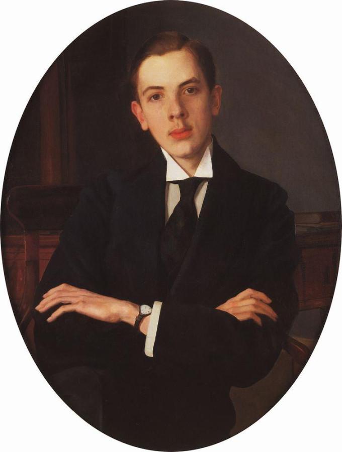 Портрет Е.С.Михайлова. 1916