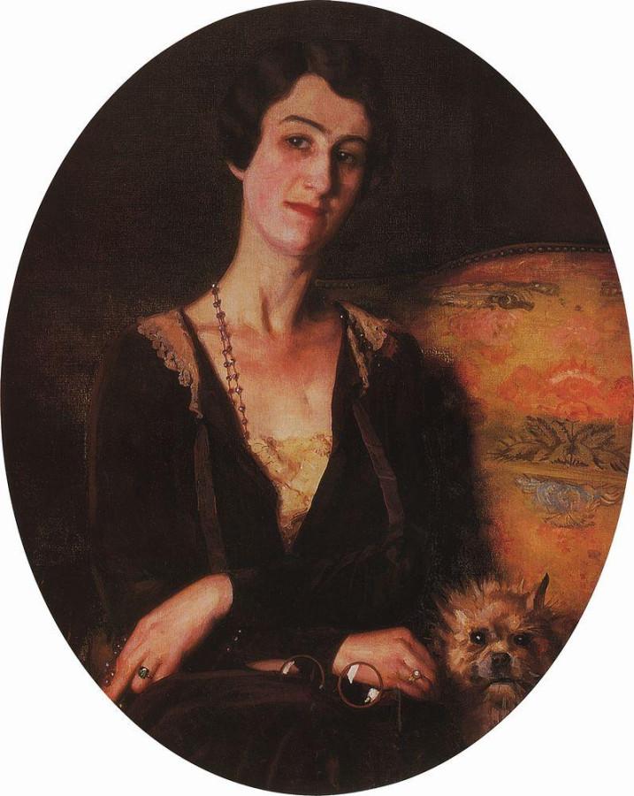 Портрет Е.С.Питс-Билибиной. 1926