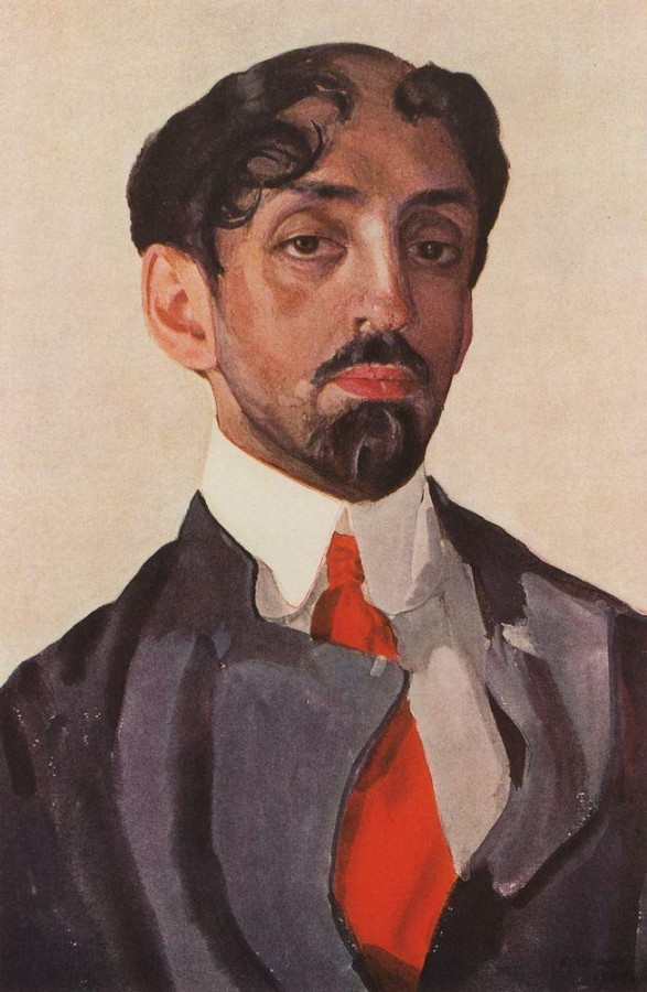 Портрет М.А.Кузмина. 1909