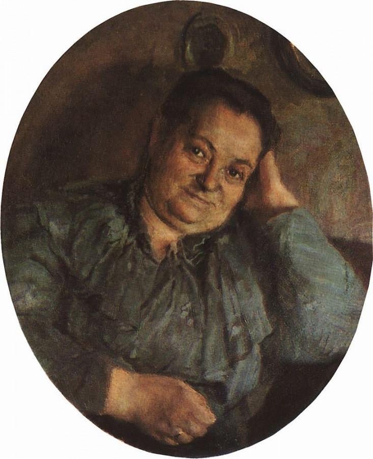 Портрет матери художника. 1895