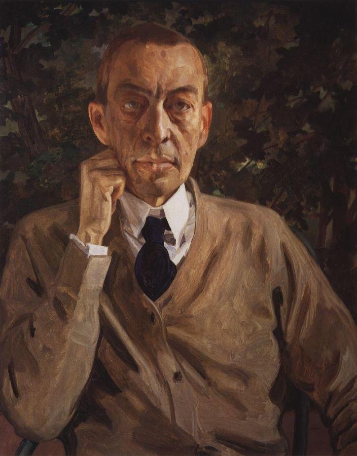 Портрет С.В.Рахманинова. 1925