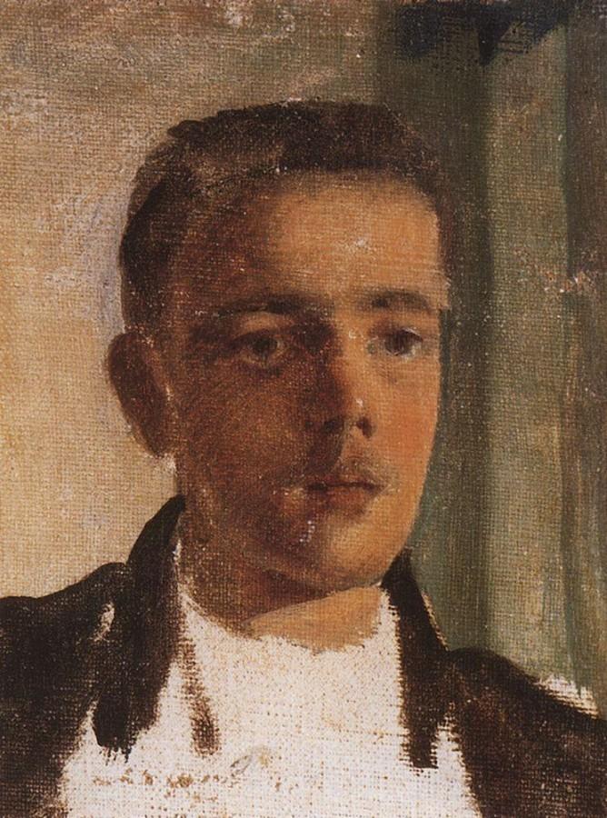 Портрет С.П.Дягилева. 1893