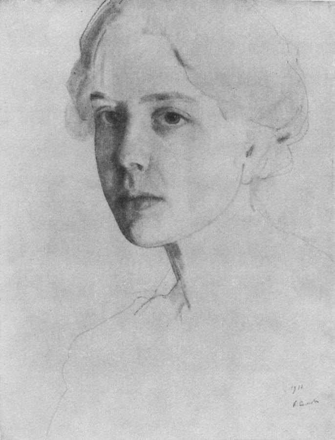 Портрет С.П.Званцевой. 1911