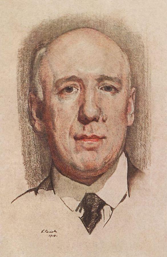 Портрет Ф.К.Сологуба. 1910