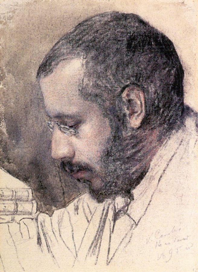 Портрет художника А.Н.Бенуа. 1895