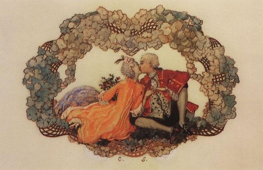 Поцелуй. 1904