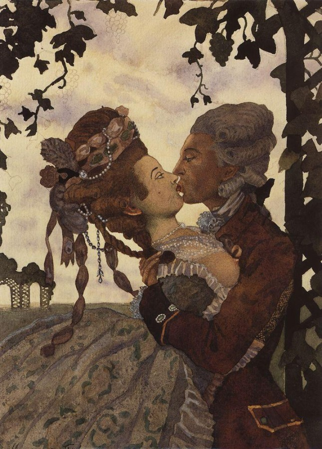 Поцелуй. 1914