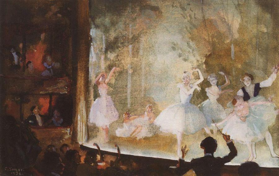 Русский балет. Елисейские поля. Сильфиды. 1932