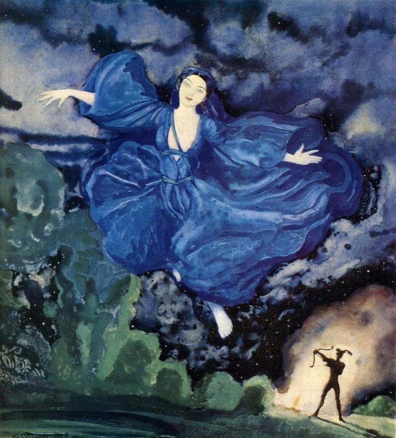 Синяя птица. 1918