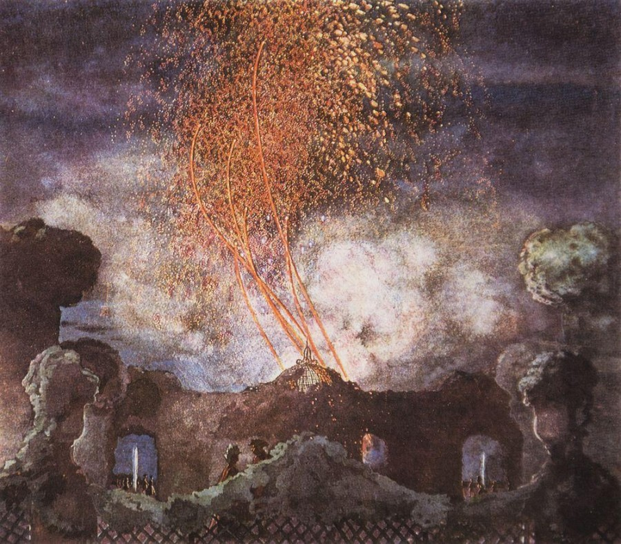 Фейерверк. 1904