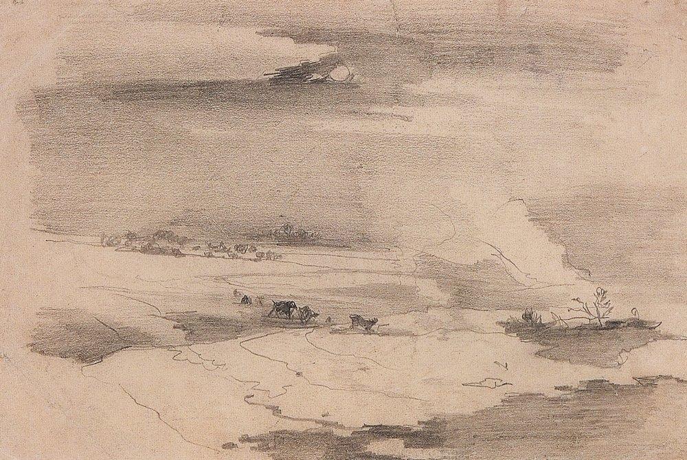 Весенний пейзаж. 1880-1890-е