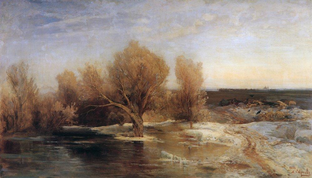 Весна. 1883